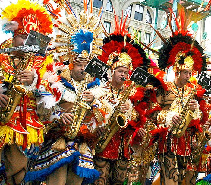 Mummers to make return appearances at Mardi Gras
