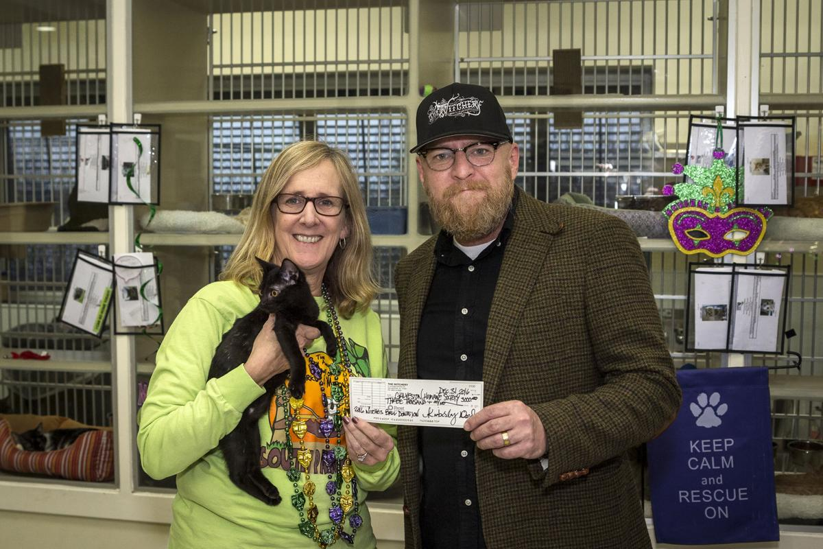 The Witchery donates to humane society