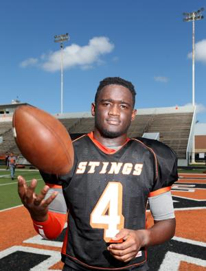<p>Texas City quarterback Da'Quan Thompson is ready for Friday's return to Friendswood after last year's season-ending injury.</p>