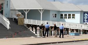 Pedestrian killed on seawall