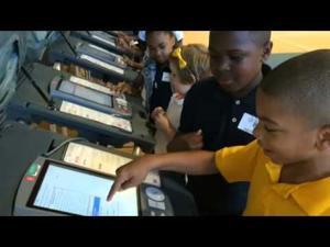 La Marque Elementary Students Mock Election