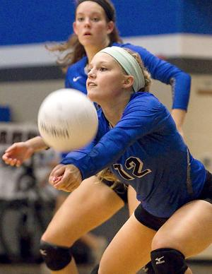Clear Springs volleyball