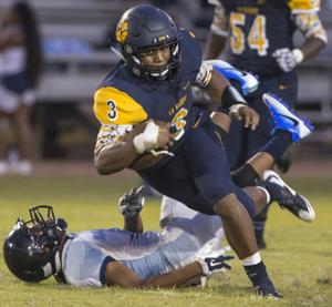 La Marque rallies from early deficit to open 2016 season with a win