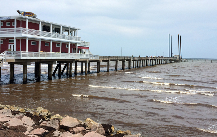 Galveston fishing pier growing business the daily news for Galveston jetty fishing report