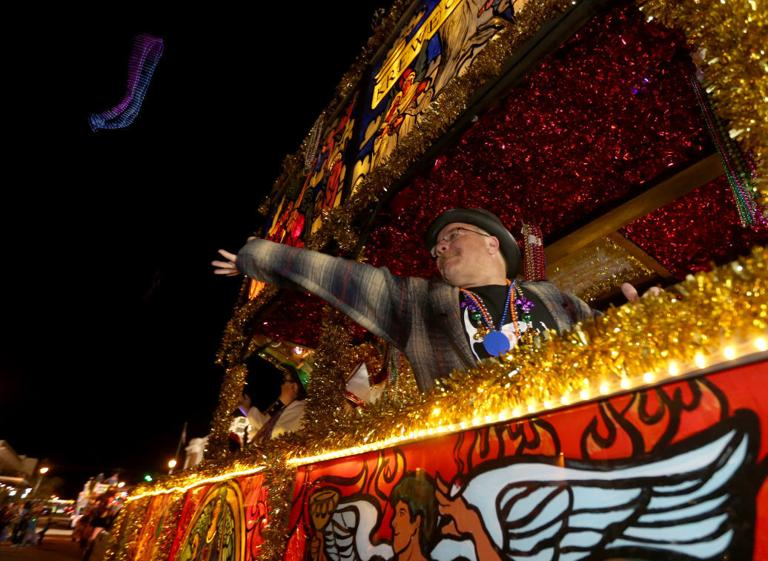 Fat Tuesday parade brings Mardi Gras to a close