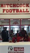 Hitchcock's Josh Daniels signs with Southern Nazarene