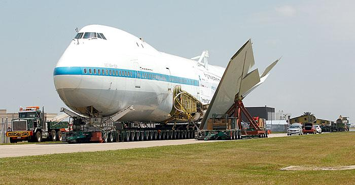 747 Shuttle Carrier Aircraft