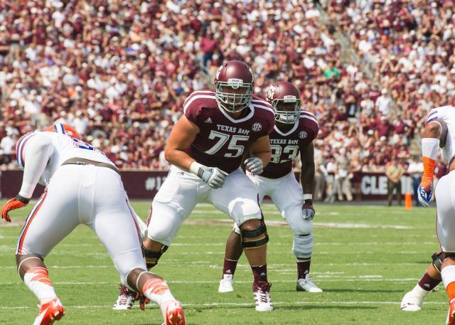 Jake Matthews of Texas A&M
