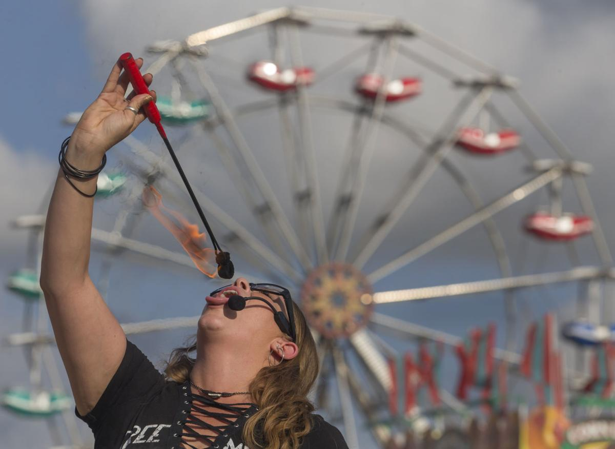Galveston County Fair and Rodeo Opening Day