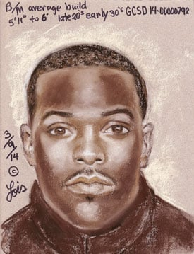 GCSO releases sketch of man last seen with victims found on Bolivar