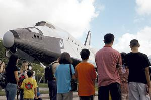Space Center Houston picks new name for shuttle replica