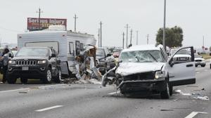 I-45 Wreck