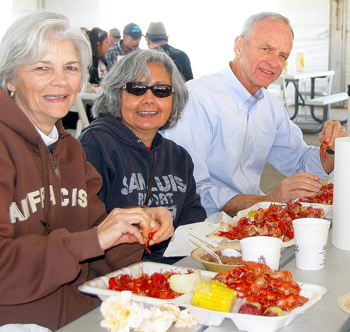 Rotary Crawfish Boil is Sunday