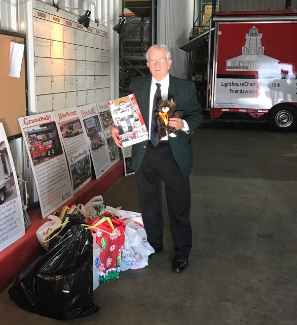 Kiwanis Club of Galveston donates toys to Blue Santa program
