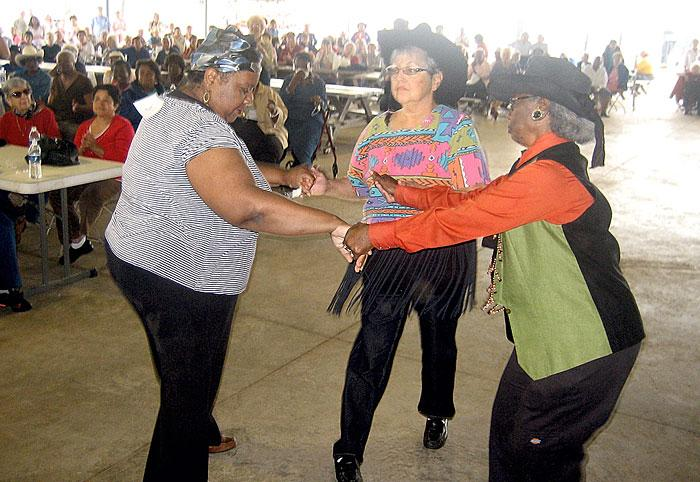 Area seniors compete in rodeo dance-off, Bingo