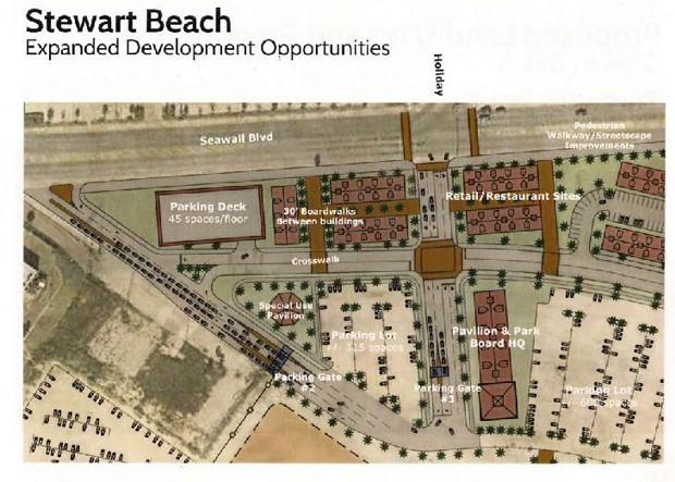 Beach plan