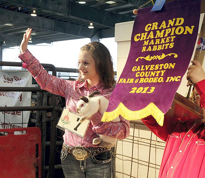 Grand Champion Rabbit