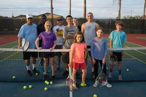 Two locals bring home singles titles