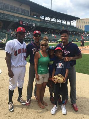Nick Williams, family learning to adjust year after trade