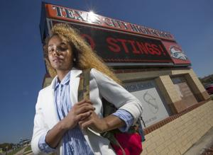 Defying gender norms, Texas City senior seeks crown and title