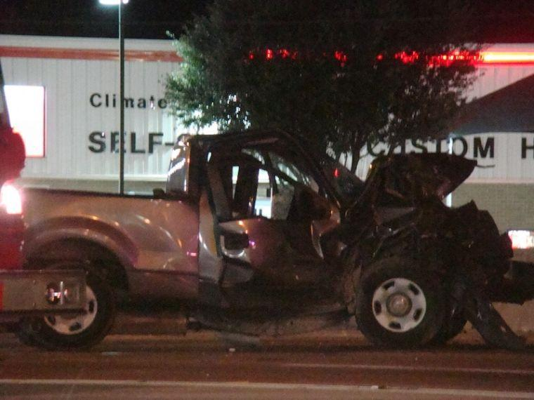 Pregnant woman killed in I-45 accident