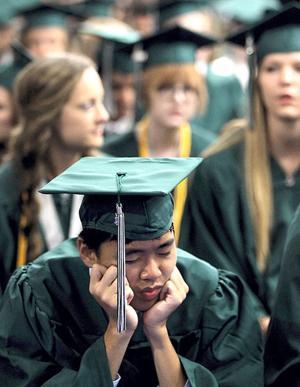 Clear Falls High School graduation
