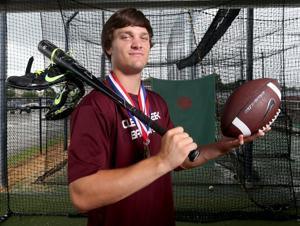 Clear Creek 3-sport standout Landon Etzel the county boys athlete of the year