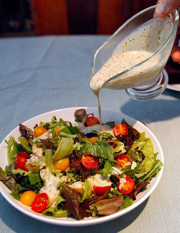 Lemon-chia Seed Salad Dressing