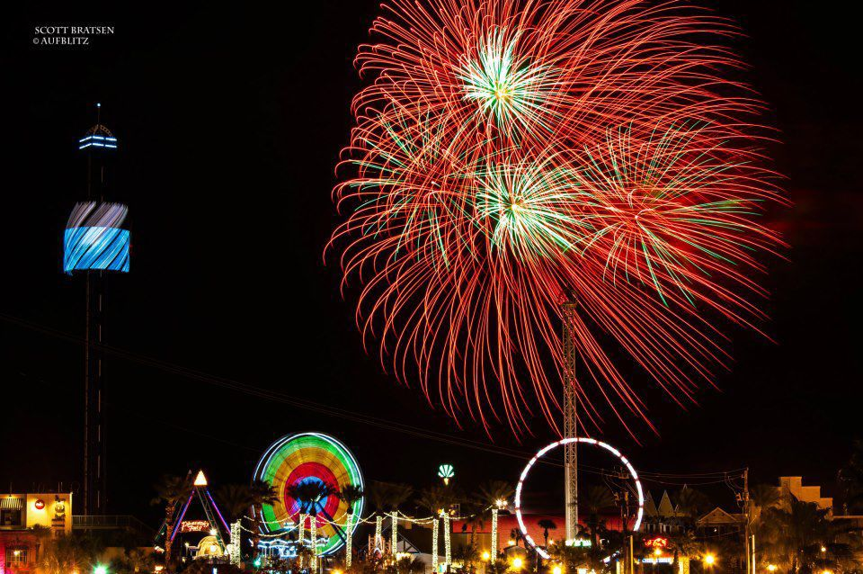 Kemah Boardwalk Firework Fridays