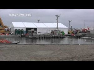 Galveston Bay Fuel Oil Spill Cleanup Efforts