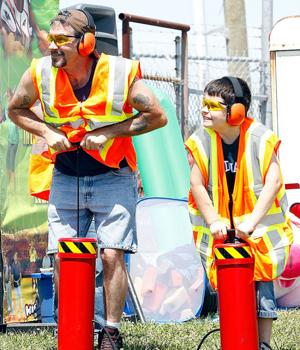Father, son duo competes in Kids Celebration contest