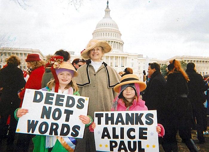 Smithsonian showcases women's suffrage exhibit