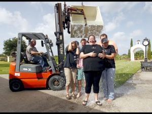 Haak Winery's Ice Bucket Challenge For Santa Fe, TX man with ALS