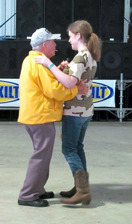 Dance contest a highlight of Seniors Day
