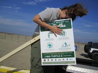 Replacing signs