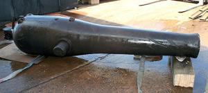 USS Westfield  cannon