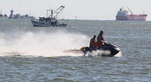 Ferry operations resume, seach continues for man overboard