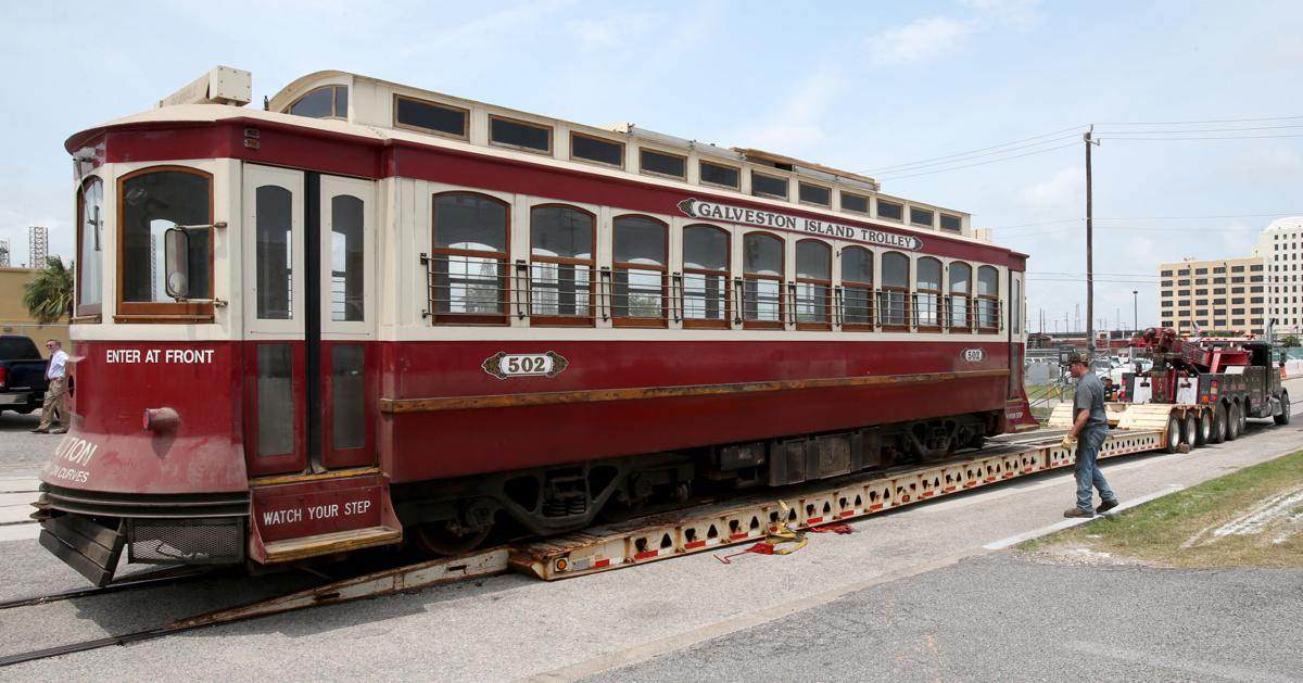 First Trolley on the road to restoration