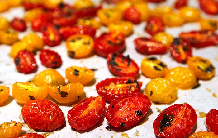 Cherry tomatoes have a robust growing season