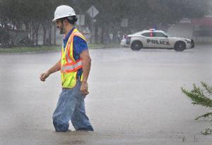 Heavy Rains Cause Traffic Hassles Roads Closed The