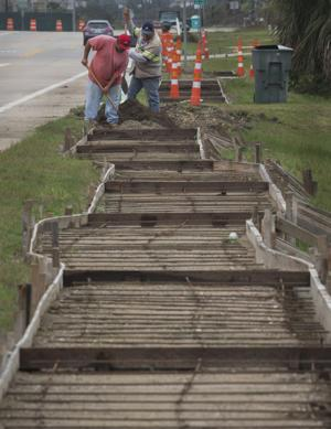 Stewart Road sidewalk project delayed by a typo