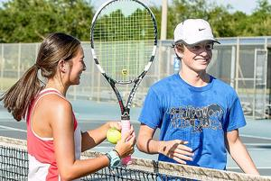 Friendswood's 48-hour tennis fundraiser