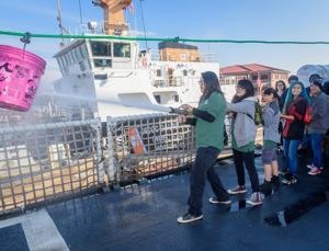 Maritime high-schoolers get glimpse of Coast Guard life