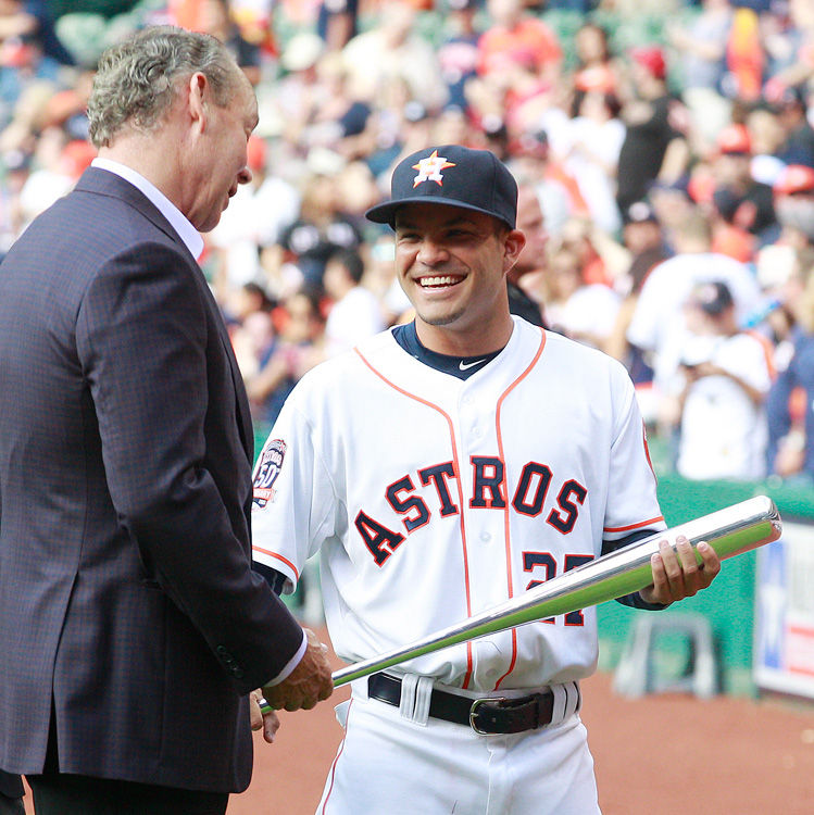 Photos astros opening day in focus the daily news for Cox houston