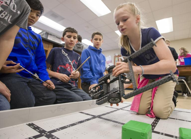DISD officials excited about STEM academy's success