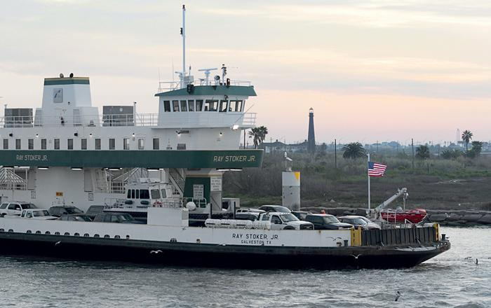 Ferry is running full time