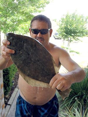 Flounder catch