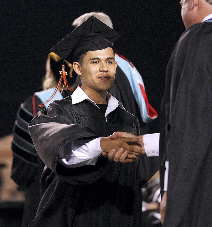 Picking up the degree