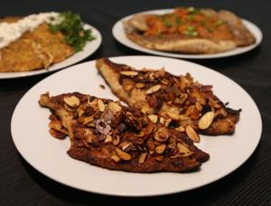<p>Toasted almonds gives flaky catfish fillets a crunch in this recipe for catfish amandine.</p>