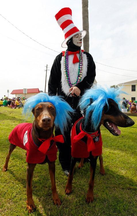 Krewe of Barkus & Meoux Parade
